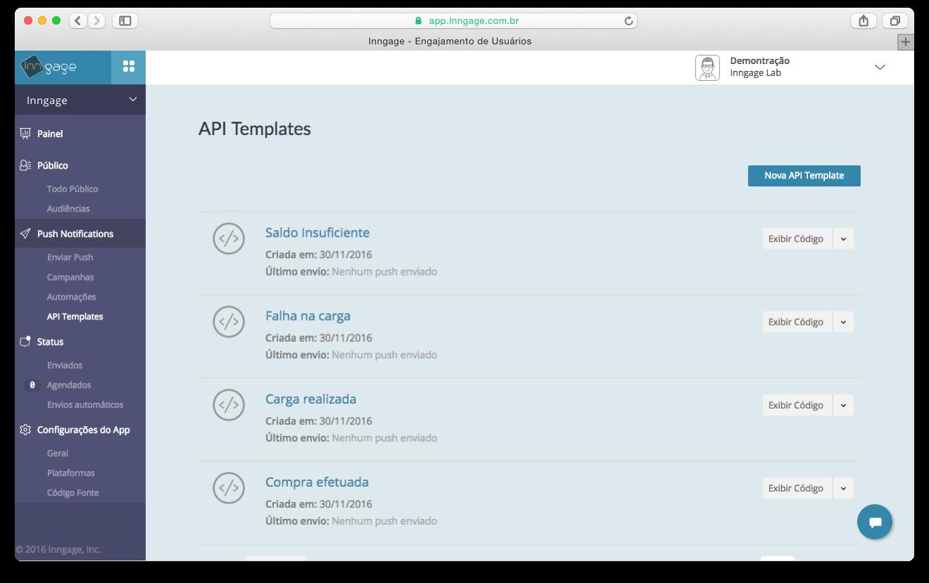 API TEMPLATES