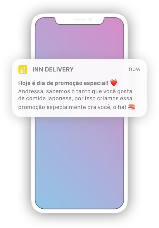 Push Notification Delivery App